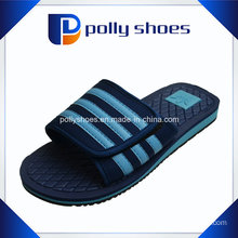 Mens Slipper Velcro Shower Mule Sandals